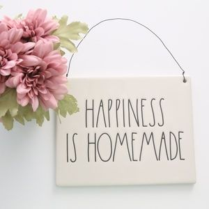 Happiness Is Homemade Rae Dunn Wall Art Decor New